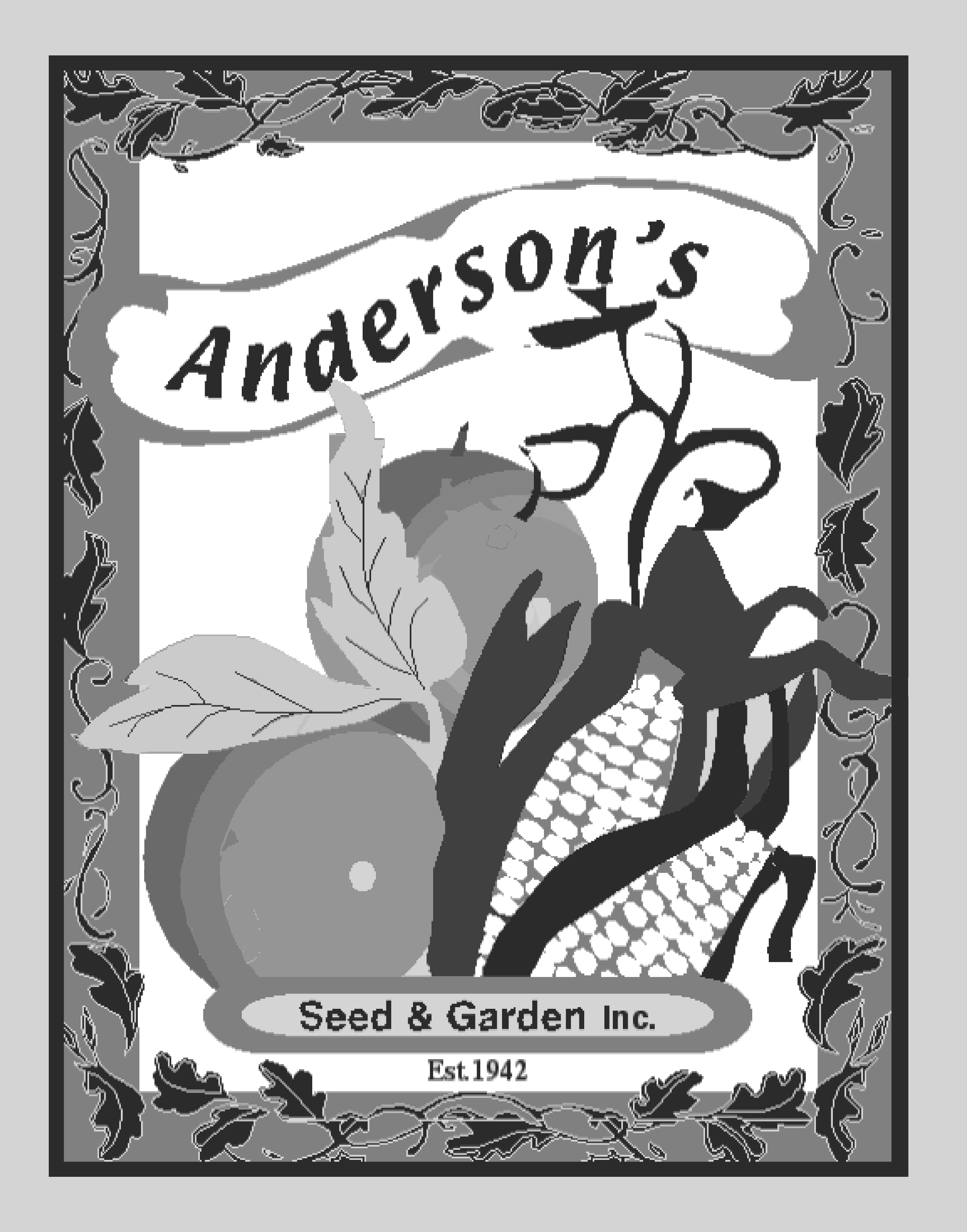 Tendersweet Orange Heirloom Watermelon Seed 1 oz.